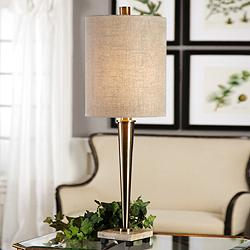 Uttermost Ennell Antique Brass Buffet Table Lamp