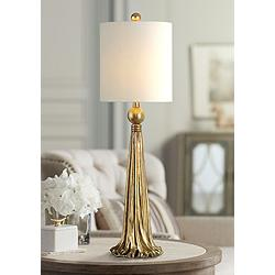 Uttermost Paravani Antique Metallic Gold Buffet Table Lamp