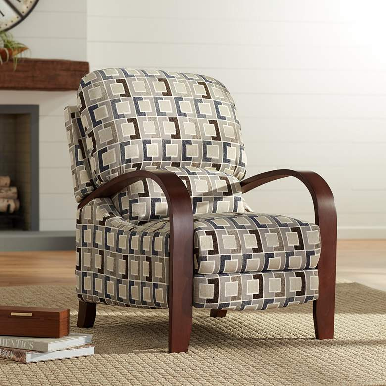 Cooper Timeline Denim 3-Way Recliner Chair