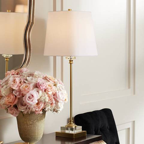 Julia Gold and Crystal Buffet Table Lamp
