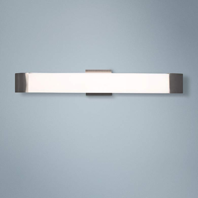 "West End 27"" Wide Bronze LED Bath Light"