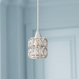 Crystal Mini Pendant Chandeliers Lamps Plus