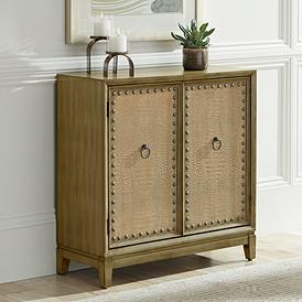 Palladium 35 1 2 Wide Distressed Wood Door Chest