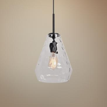 "Simplicite 9"" Wide Black Mini Pendant"