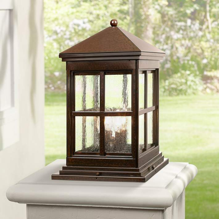 Berkeley Collection 18 3 4 High Outdoor Pier Mount Light 33489 Lamps Plus