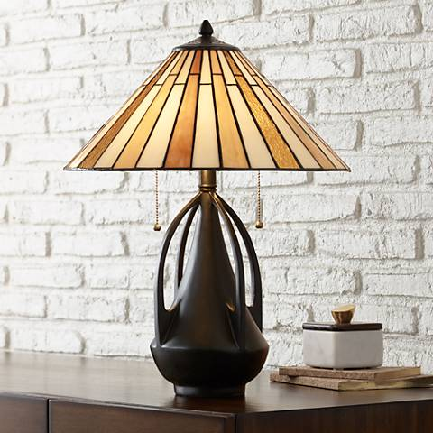 Robert Louis Tiffany Clark Accent Table Lamp