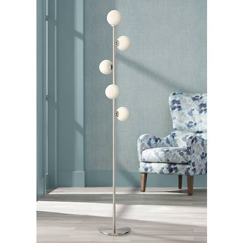 Possini Cielo 5-Light LED Tree Floor Lamp