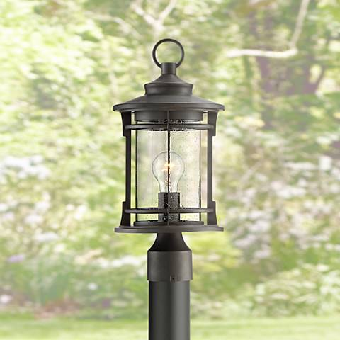 "Grenville 17 1/2"" High Bronze Outdoor Post Light"