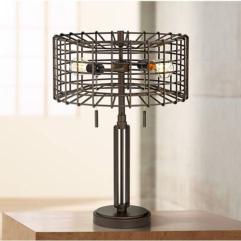"Adam Industrial 23"" High Accent LED Table Lamp"