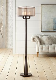 Floor lamps traditional to contemporary lamps lamps plus franklin iron works durango floor lamp with edison bulbs aloadofball Gallery