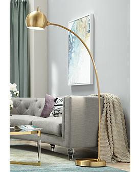 Tremendous Arc Floor Lamps Reading Lights Lamps Plus Ibusinesslaw Wood Chair Design Ideas Ibusinesslaworg