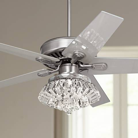 52 windstar ii steel crystal light kit ceiling fan 34053 66116 52 windstar ii steel crystal light kit ceiling fan aloadofball Gallery