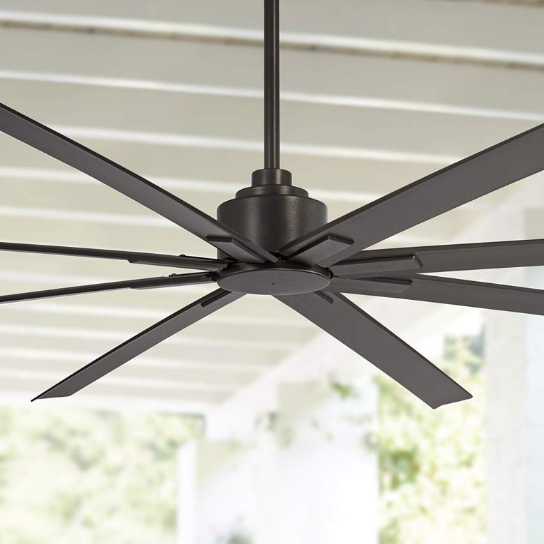 "84"" Minka Aire Xtreme H2O Smoked Iron Wet Ceiling Fan"