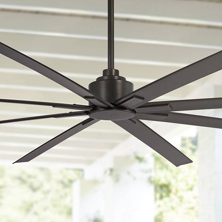 "84"" Minka Aire Xtreme H20 Smoked Iron Wet Ceiling Fan"