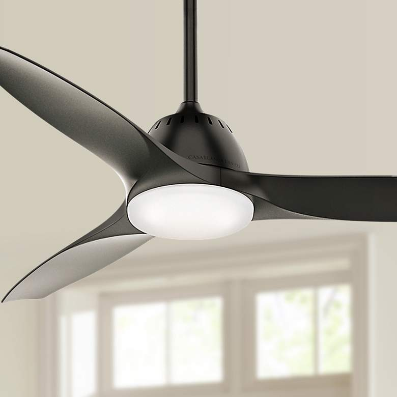 "52"" Casablanca Wisp Noble Bronze LED Ceiling Fan"