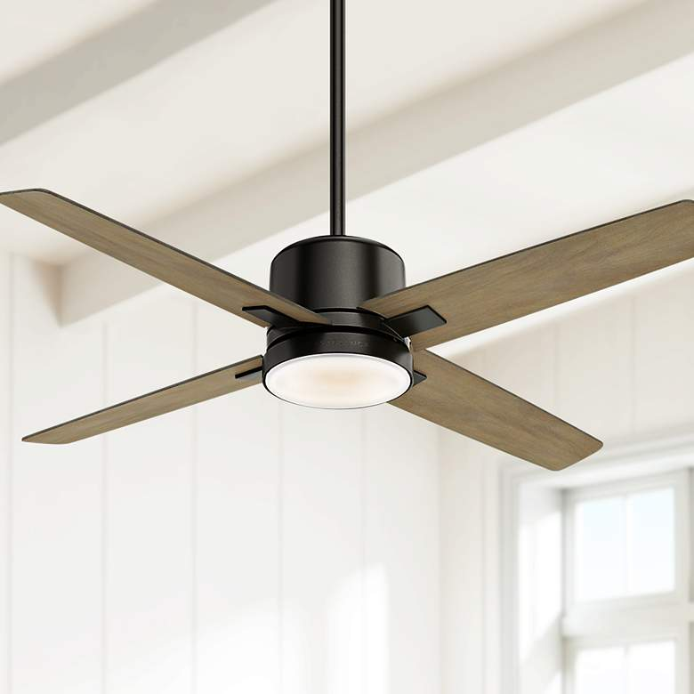 "52"" Casablanca Axial Noble Bronze LED Ceiling Fan"