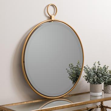 "Wright Bronzed Golden 25 1/2"" x 30 1/2"" Wall Mirror"