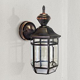 Dusk To Dawn Wall Light Outdoor Lighting Lamps Plus