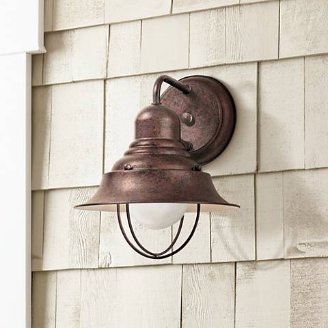 "Wyndmere Collection Antique Bronze 10 1/4"" High Wall Light"