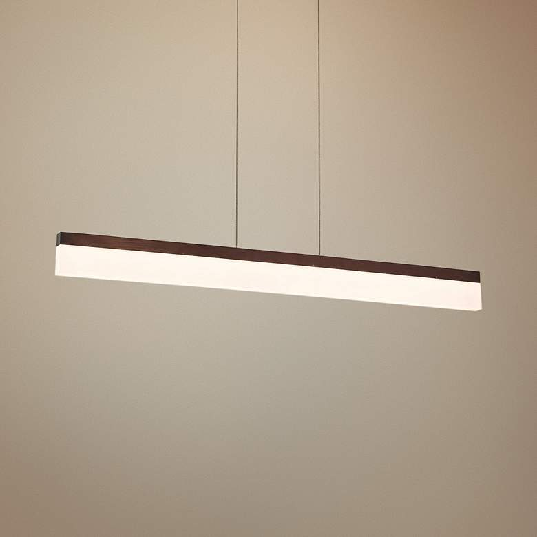 "Eurofase Tunnel 36""W Bronze LED Kitchen Island Light"