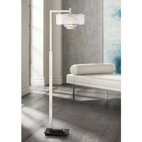 Possini Lyric Downbridge Floor Lamp