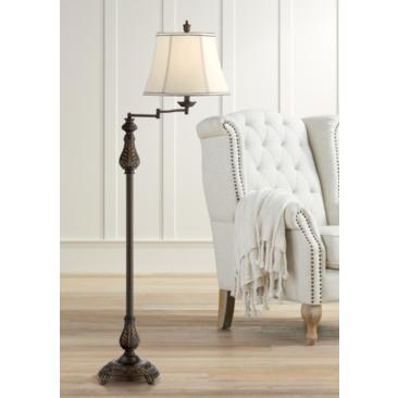Abbott Swing Arm Floor Lamp