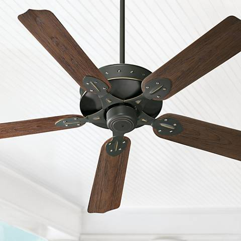 "52"" Quorum Hudson Old World Patio Ceiling Fan"