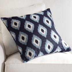 "Allegro Lapis 20"" Square Throw Pillow"