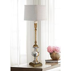 Regina Andrew Parisian Antique Gold Leaf Buffet Table Lamp