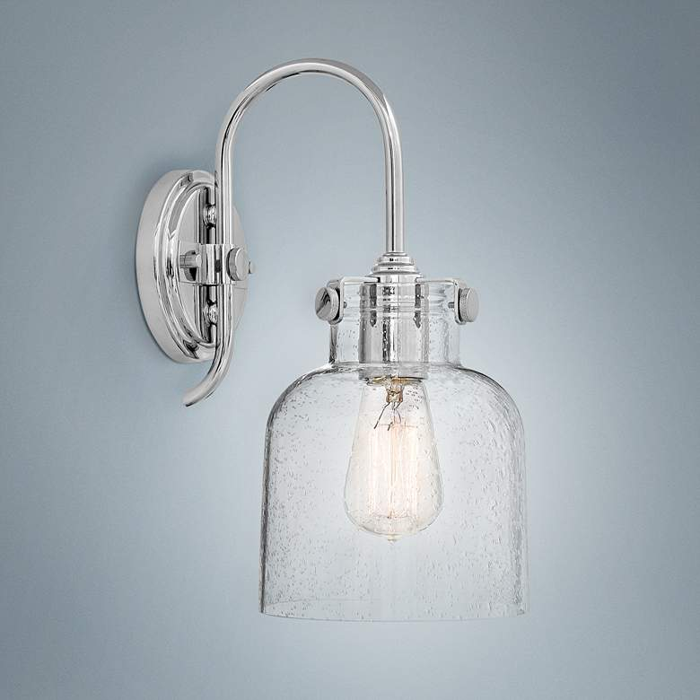 "Hinkley Congress 13 1/4"" High Chrome Wall Sconce"