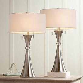 Modern Table Lamp Sets Contemporary Lamps Lamps Plus