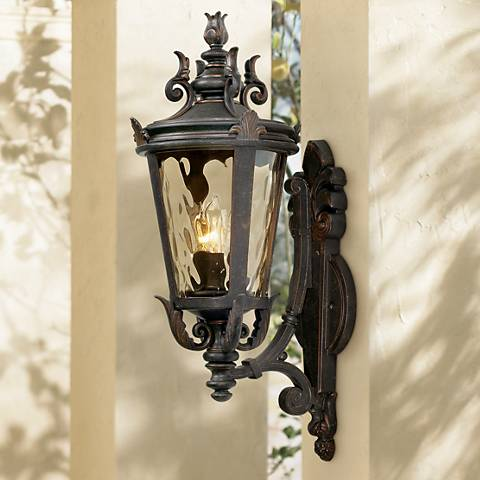 "Casa Marseille™ 22"" High Bronze Outdoor Wall Light"
