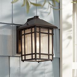 "Jardin du Jour 11"" High Bronze Outdoor Wall Light"