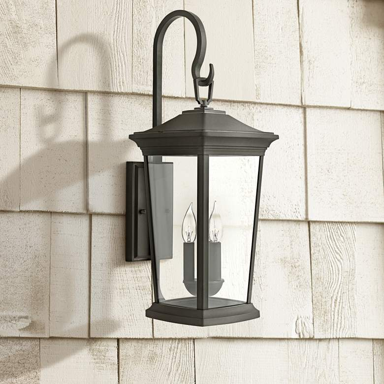 "Hinkley Bromley 24 3/4"" High Museum Black Outdoor"