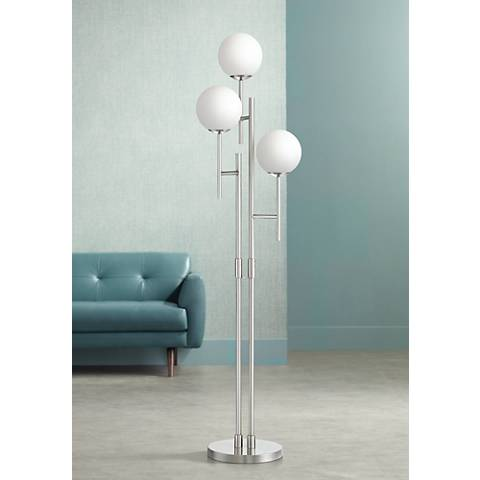Possini Euro Comet 3-Light Floor Lamp