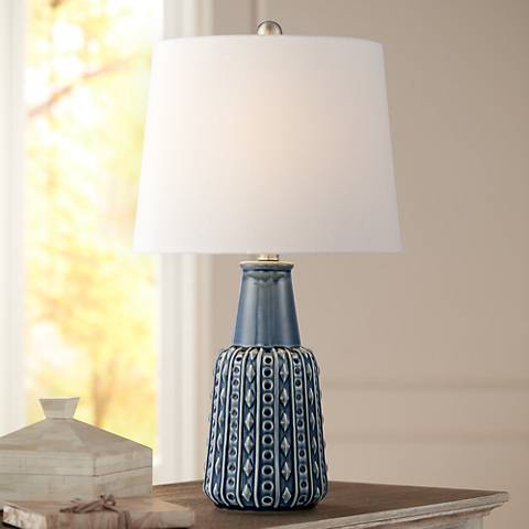 Shelly Ceramic Accent Table Lamp
