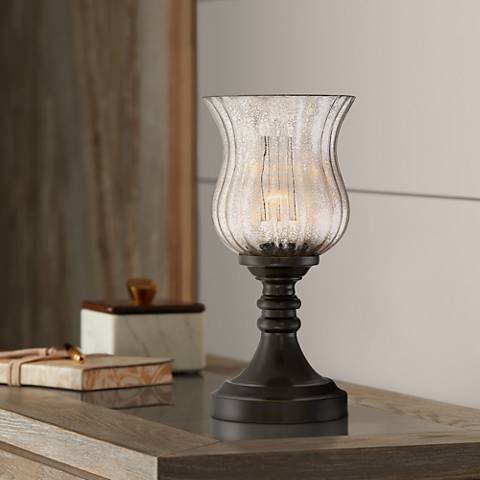 Larry Mercury Glass  Accent Lamp