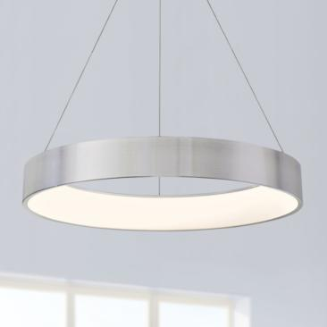 "dweLED Corso 32"" Wide LED Ring Pendant Chandelier"