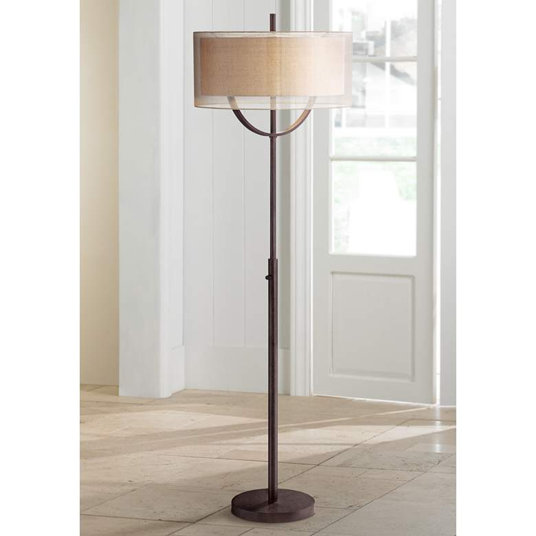 Possini Euro Arris Light Blaster™ Modern Floor Lamp