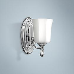 "Hinkley Shelly 9 1/2"" High Chrome Wall Sconce"