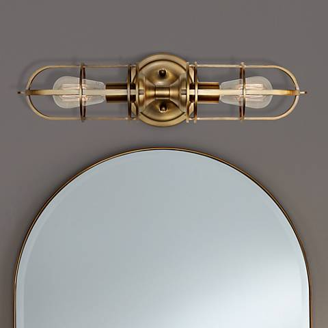 "Feiss Urban Renewal 20 1/4""H Dark Antique Brass Wall Sconce"