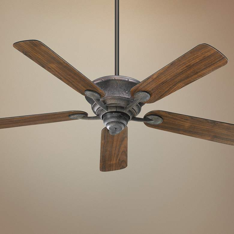 "52"" Quorum Liberty Toasted Sienna Ceiling Fan"