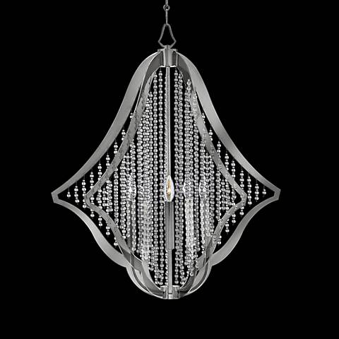 "Fredrick Ramond Bijou 28 1/4"" Wide Nickel Chandelier"