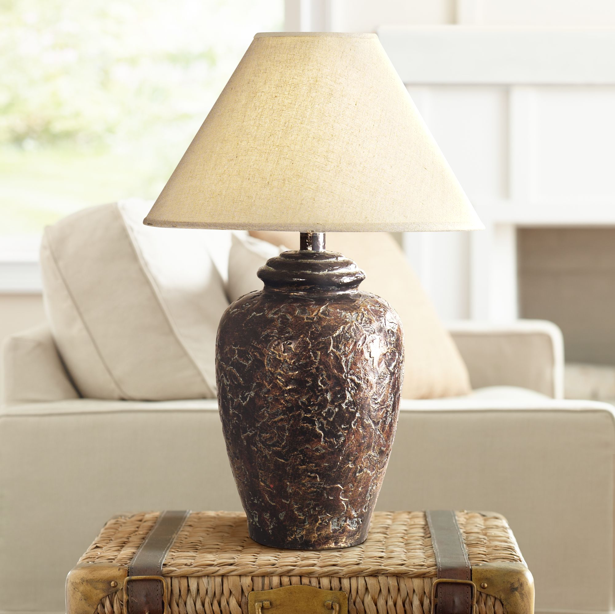 Socorro Bronze Southwest Table Lamp