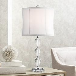 Goddin Faceted Crystal Table Lamp by Vienna Full Spectrum