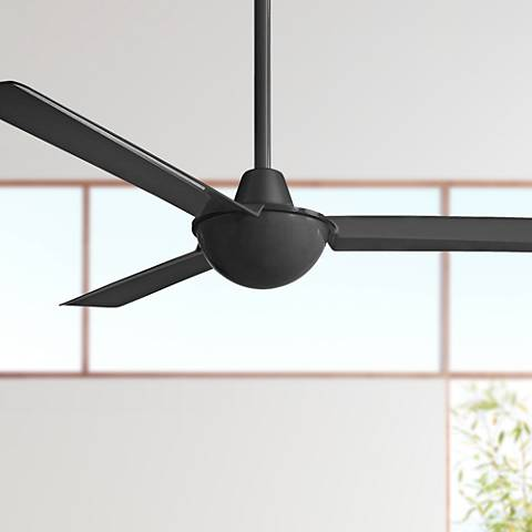 "52"" Minka Aire Kewl Black Ceiling Fan"