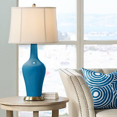 Mykonos Blue Anya Table Lamp
