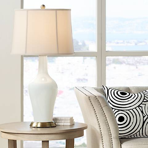 West Highland White Anya Table Lamp