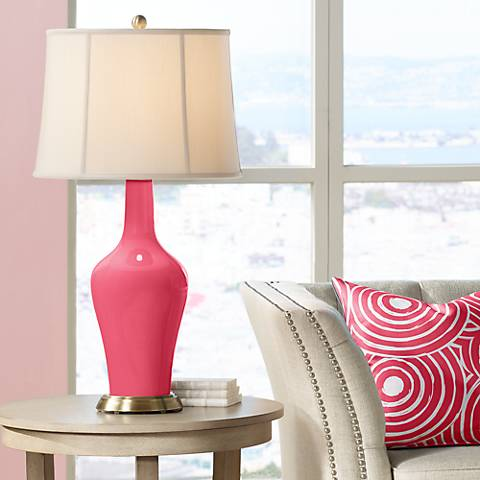Eros Pink Anya Table Lamp