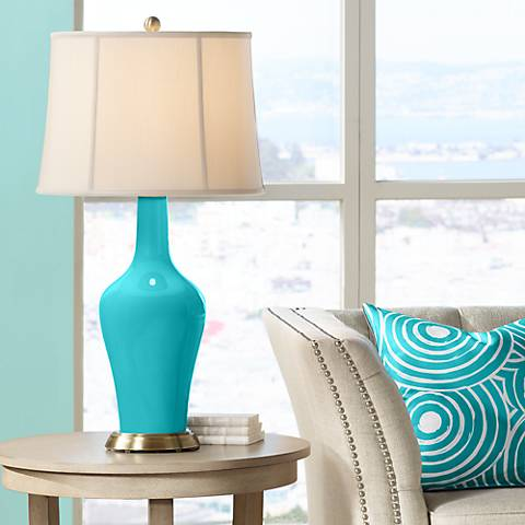 Surfer Blue Anya Table Lamp